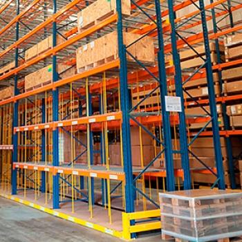 Estrutura De Armazenagem Porta-paletes em Belo Horizonte